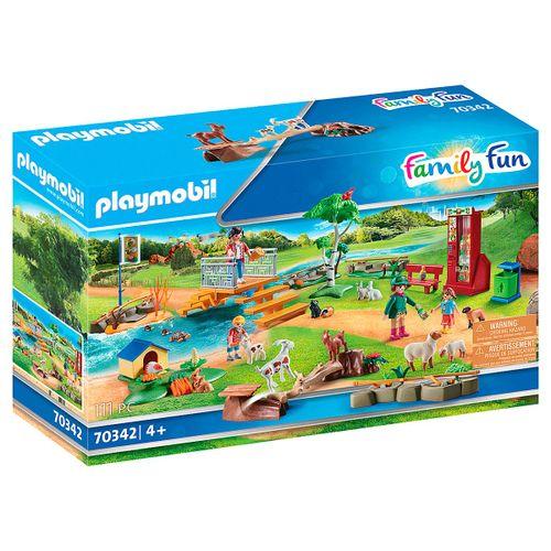 Playmobil Family Fun Zoo de Mascotas