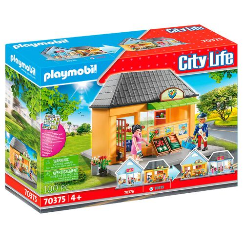 Playmobil City Life Mi Supermercado