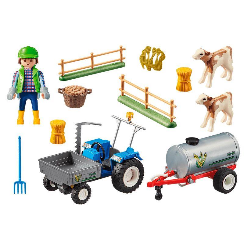 Playmobil-Country-Tractor-de-Carga-con-Tanque_1