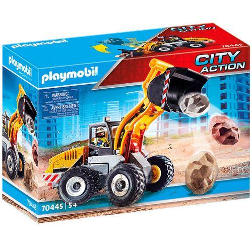 Playmobil City Action Cargadora Frontal