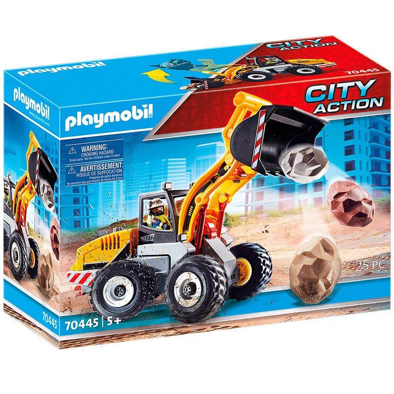 Playmobil-City-Action-Cargadora-Frontal
