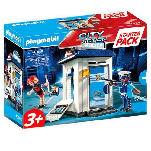 Playmobil City Action Starter Pack Policía