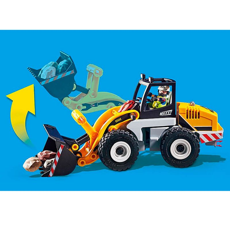 Playmobil-City-Action-Cargadora-Frontal_3