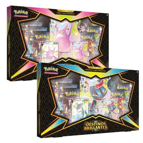 Pokémon Espada&Escudo Caja Destinos Brillantes STD