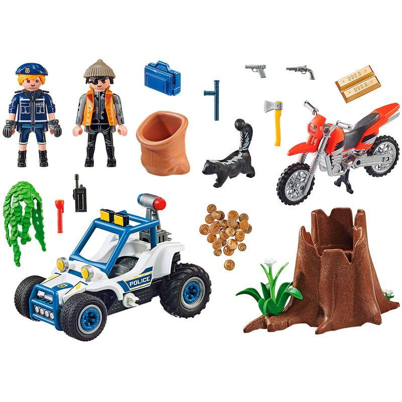 Playmobil-City-Action-Policia-Persecucion-Tesoro_1