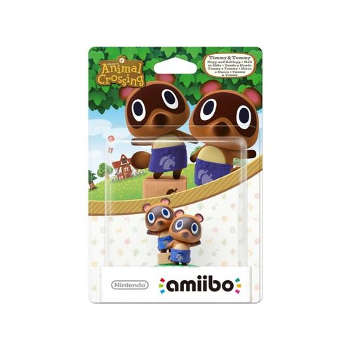 Figura Amiibo Tendo Y Nendo (Serie Animal Crossing)