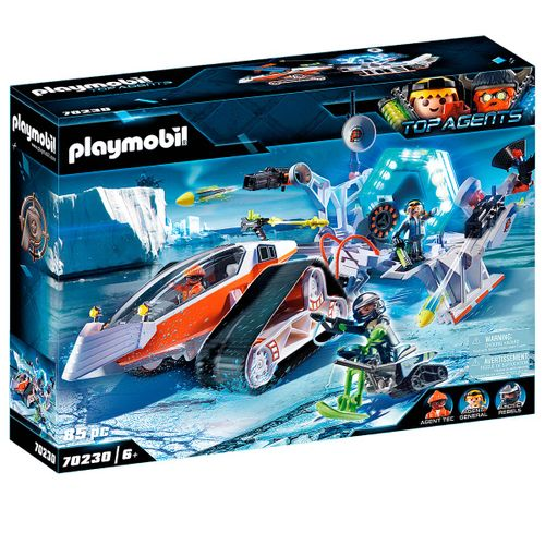 Playmobil Top Agents Spy Team Comando de Nieve