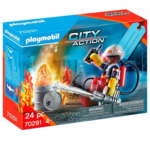 Playmobil City Action Set de Bomberos