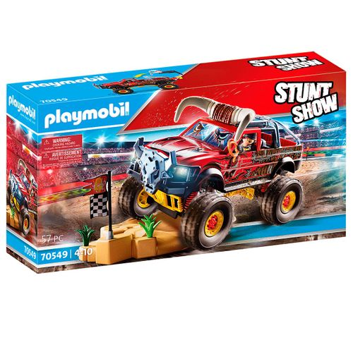 Playmobil Stuntshow Monster Truck Horned
