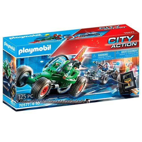 Playmobil City Action Kart Persecución Caja Fuerte