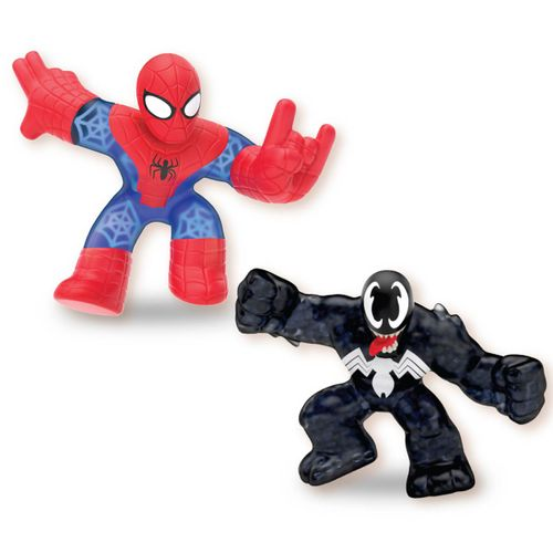 Goo Jit Zu Marvel Pack Spiderman vs Venom