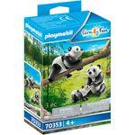 Playmobil-Family-Fun-Pandas-con-Bebe