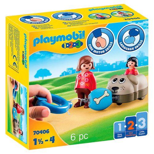 Playmobil 1.2.3 Mi Perro