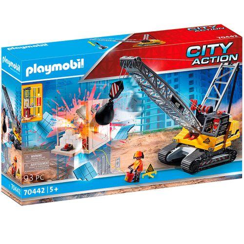 Playmobil City Action Excavadora Oruga