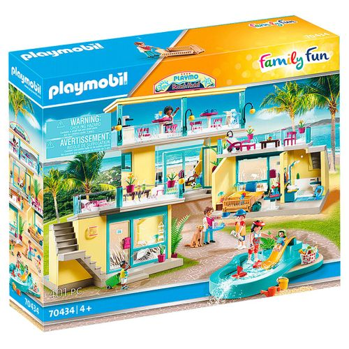 Playmobil Family Fun PLAYMO Beach Hotel
