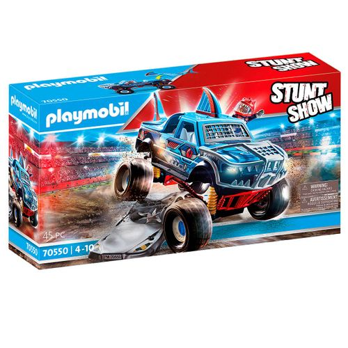 Playmobil Stuntshow Monster Truck Shark