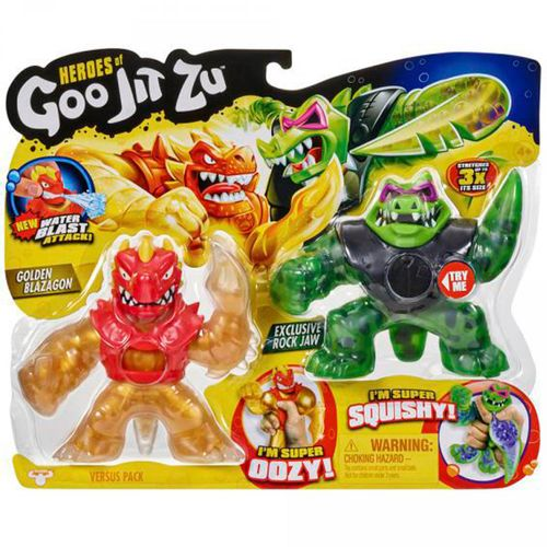 Goo Jit Zu Pack 2 Héroes Surtido
