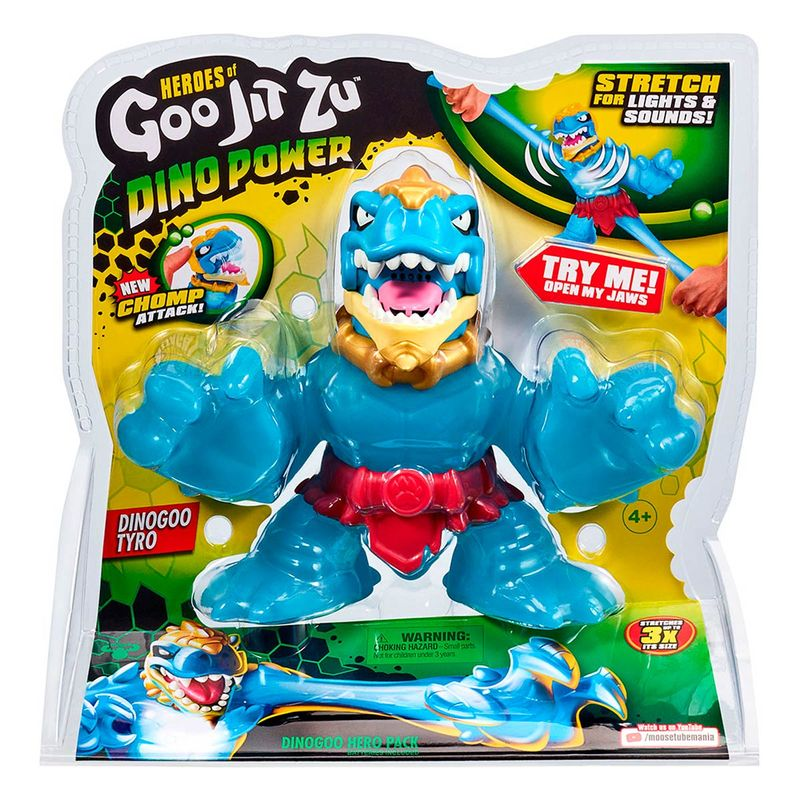 Goo-Jit-Zu-Super-Figura-Dino-Power-T-REX
