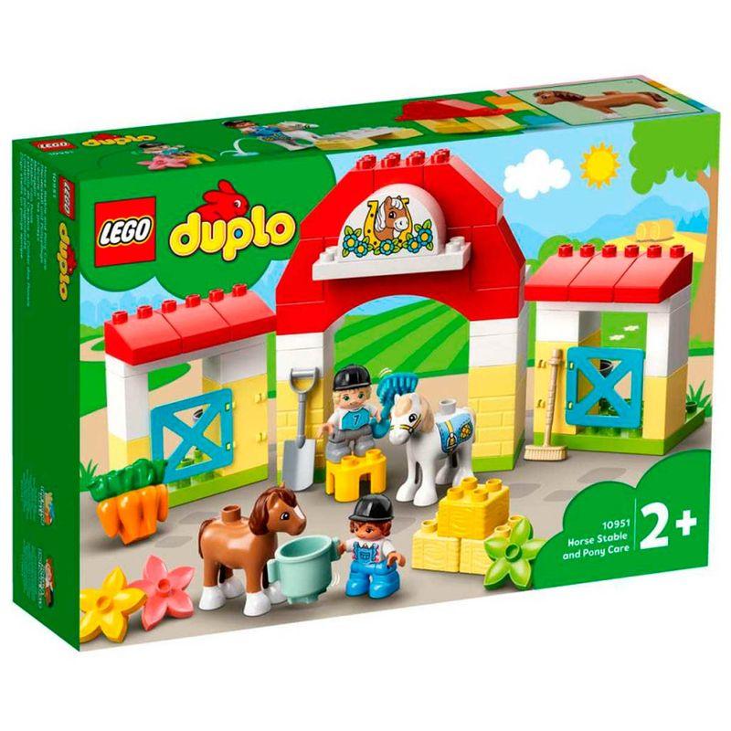 Lego-Duplo-Establo-con-Ponis