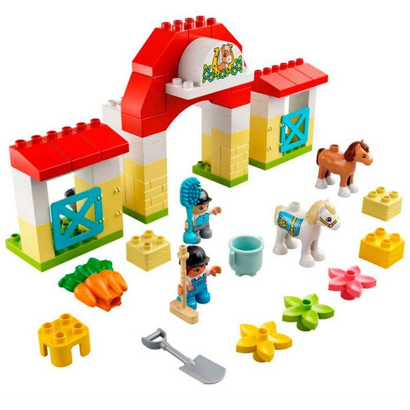 Lego-Duplo-Establo-con-Ponis_1