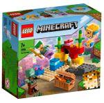 Lego-Minecraft-El-Arrecife-de-Coral