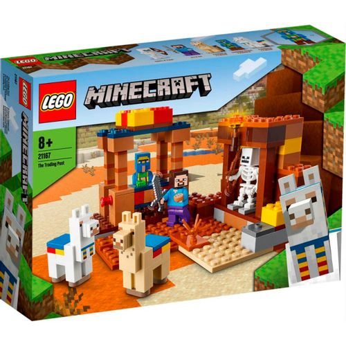Lego Minecraft El Puesto Comercial