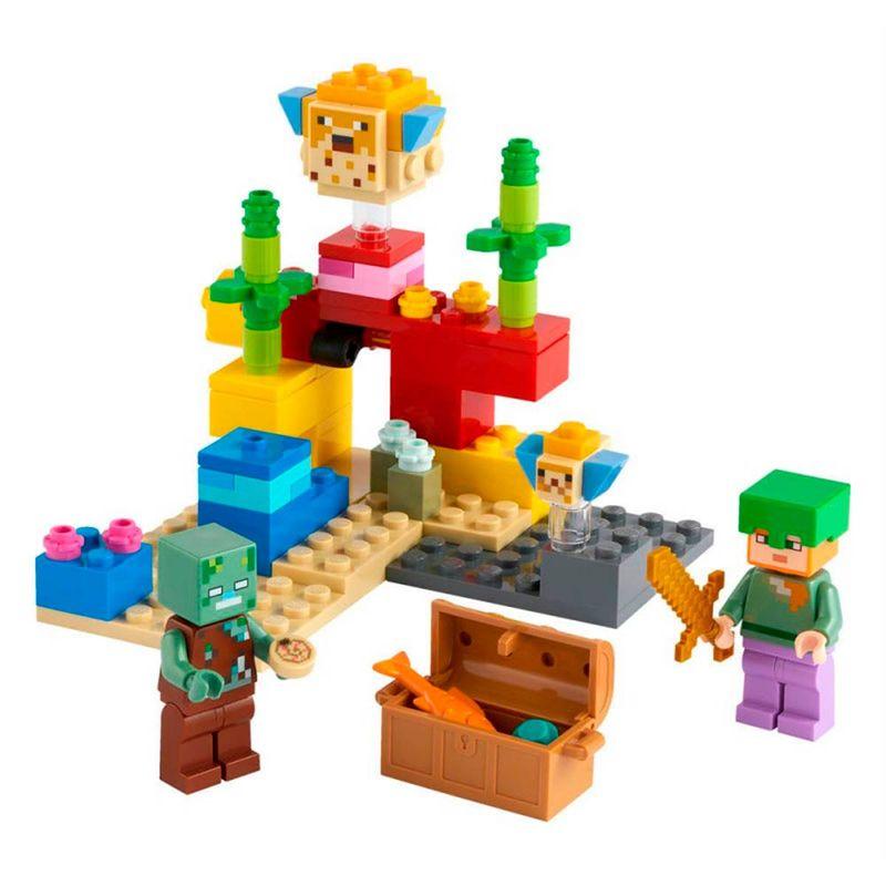 Lego-Minecraft-El-Arrecife-de-Coral_1