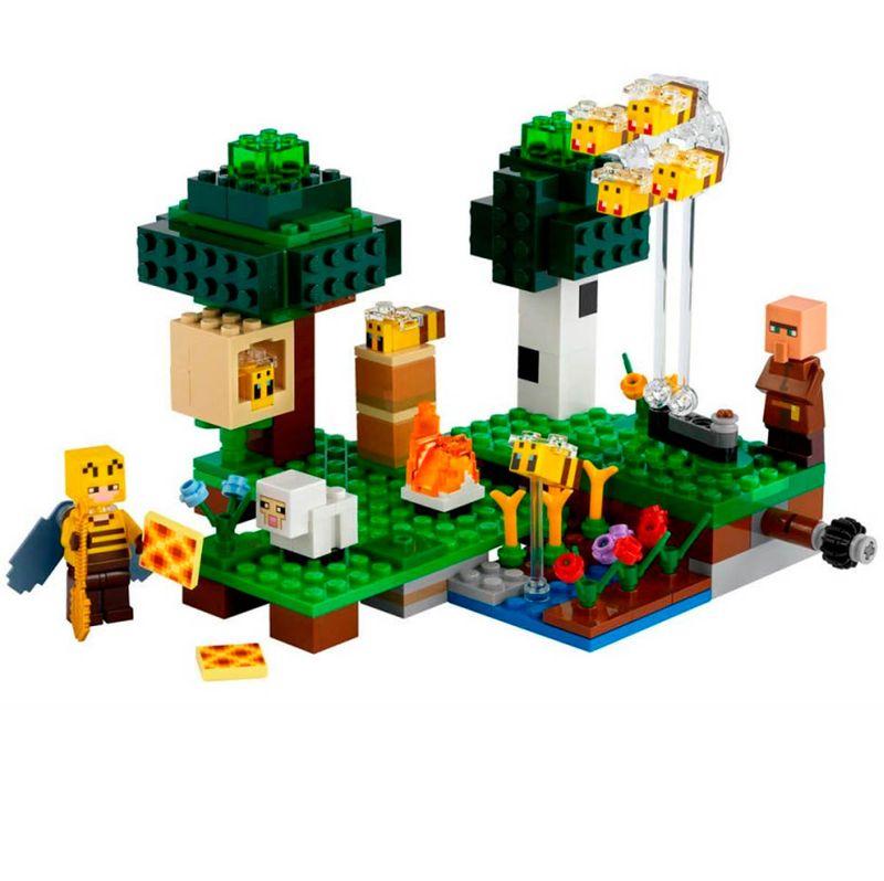 Lego-Minecraft-Minecraft-La-Granja-de-Abejas_1