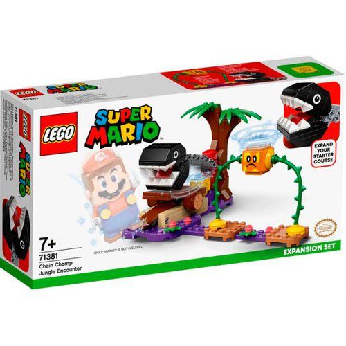 Lego Mario Batalla contra el Chomp Cadenas