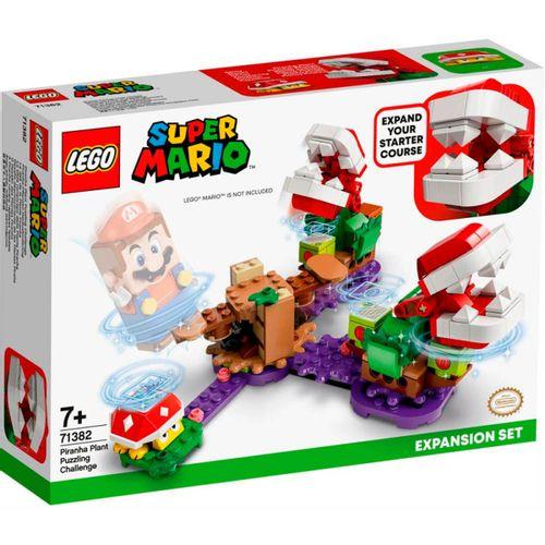 Lego Mario Expansión Desafio Plantas Piraña