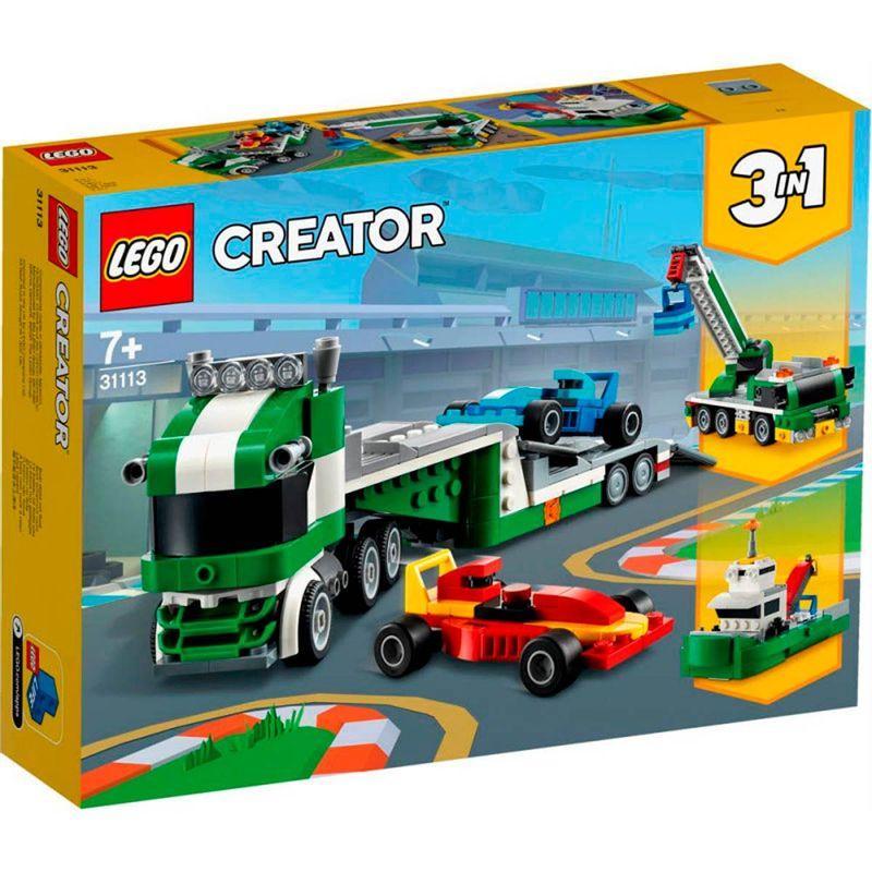 Lego-Creator-Transporte-de-Coches-de-Carreras
