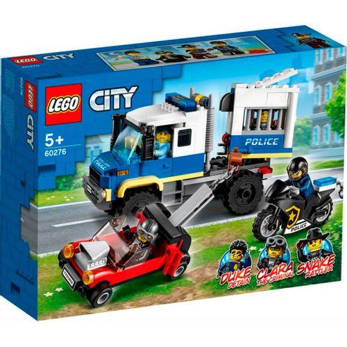 Lego City Transporte de Prisioneros de Policía