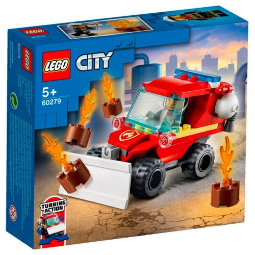 Lego City Furgoneta de Asistencia de Bomberos