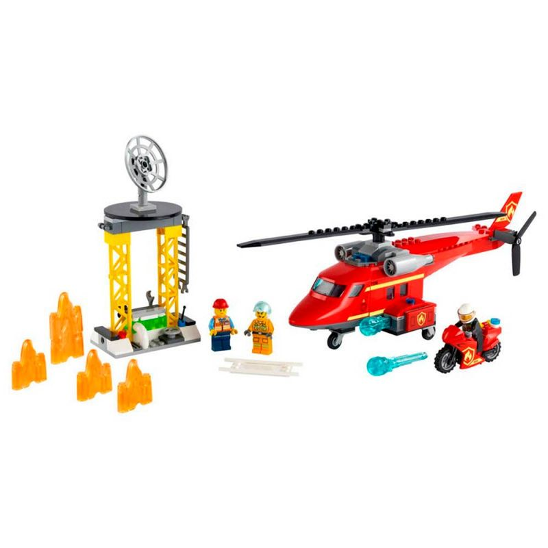 Lego-City-Helicoptero-de-Rescate-de-Bomberos_1