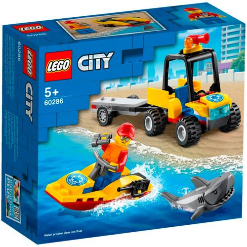 Lego City Quad de Rescate Costero