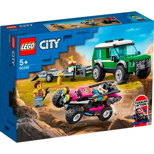 Lego City Furgoneta de Transporte Buggy Carreras