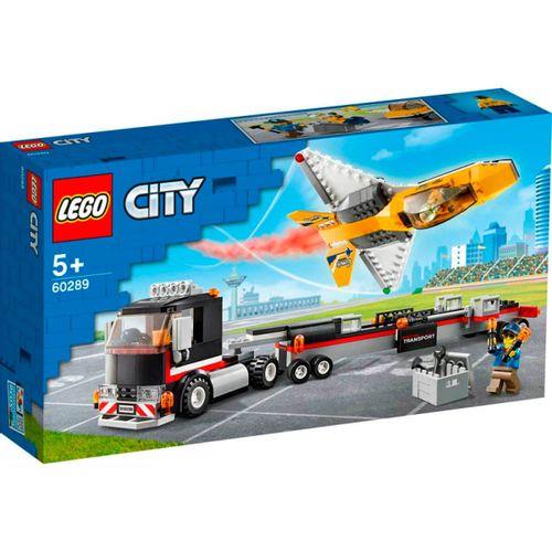 Lego City Camión de Transporte Reactor Acrobático