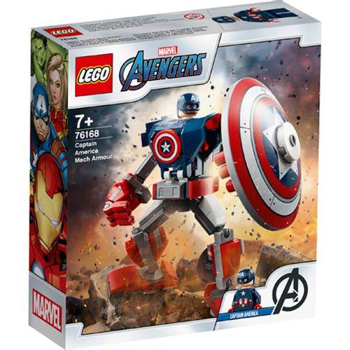 Lego Heroes Armadura Robótica Capitán América