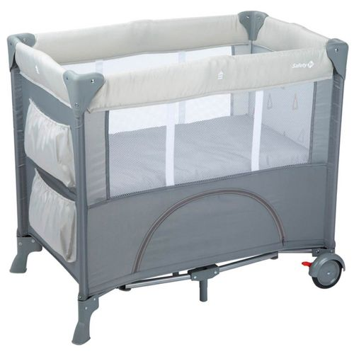 Mini Cuna de Viaje Mini Dreams Warm Gray 0m+