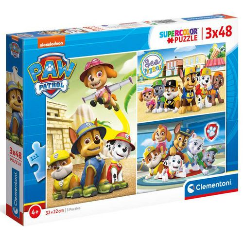 Patrulla Canina Puzzles 3x48 Piezas