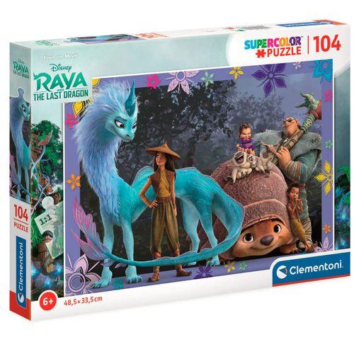 Raya y el Último Dragón Puzzle 104 Piezas