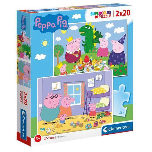 Peppa Pig Puzzle 2x20 Piezas