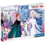 Frozen-2-Puzzle-Brillante-104-Piezas