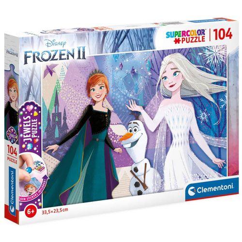 Frozen 2 Puzzle Brillante 104 Piezas