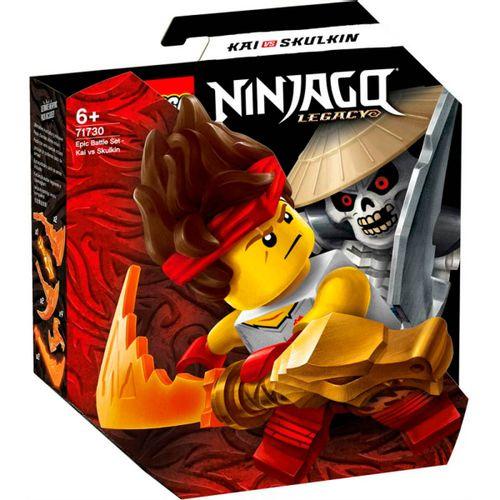 Lego Ninjago Set de Batalla: Kai vs. Skulkin