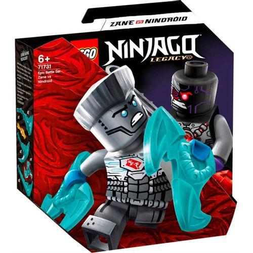 Lego Ninjago Batalla Zane vs. Nindroide