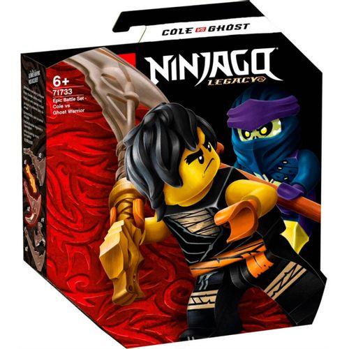 Lego Ninjago Batalla: Cole vs.Guerrero Fantasma
