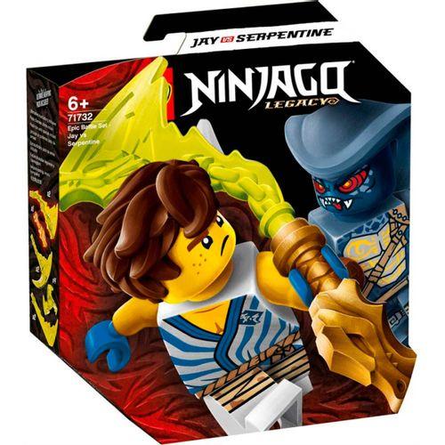 Lego Ninjago Set Batalla: Jay vs. Serpentine
