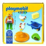 Playmobil-123-Granjera-con-Gallina_2