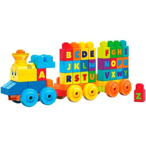 Mega Blocks Tren Musical ABC